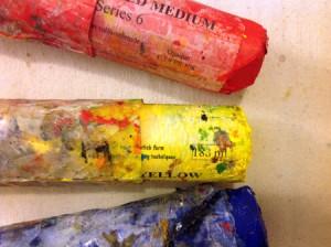 RYB pigment sticks450