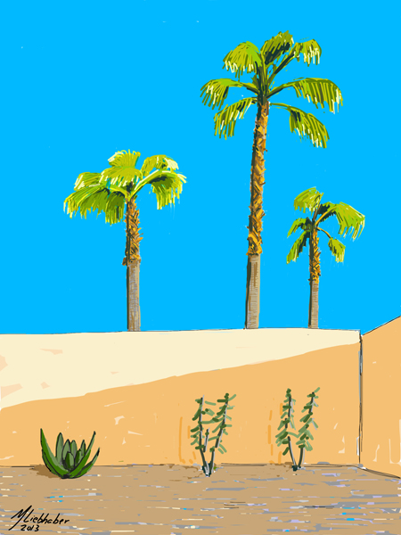 Vacation Drawing 02 (Michael Liebhaber, Digital-iPad, 2013)