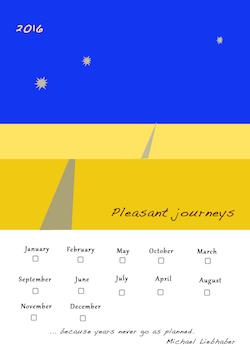 2016 pleasant Journey calendar sm